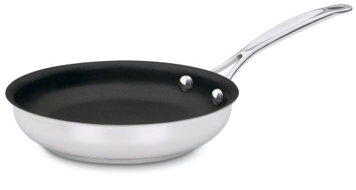 Cuisinart 722-18NS Chef's Classic Stainless Nonstick 7-Inch Open Skillet