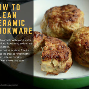 How to Clean Ceramic Cookware