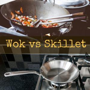 Wok vs skillet