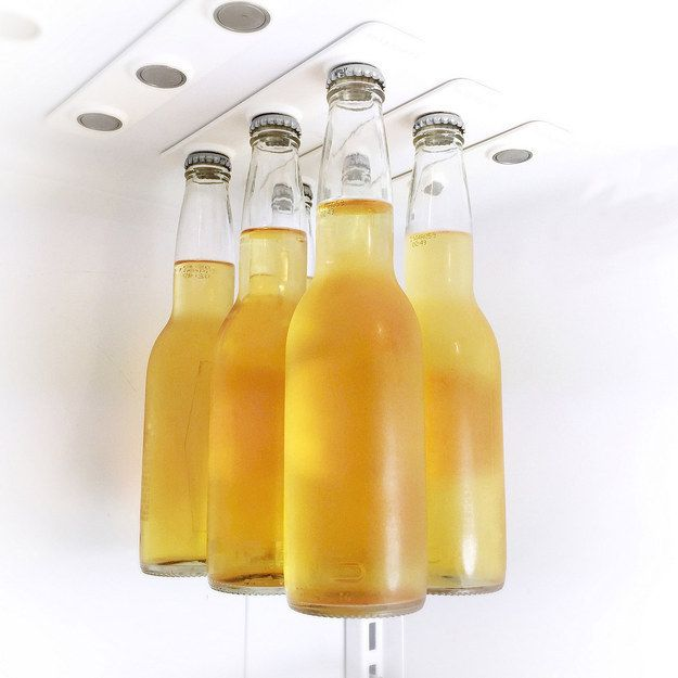 magnetic beer storage for your fridge